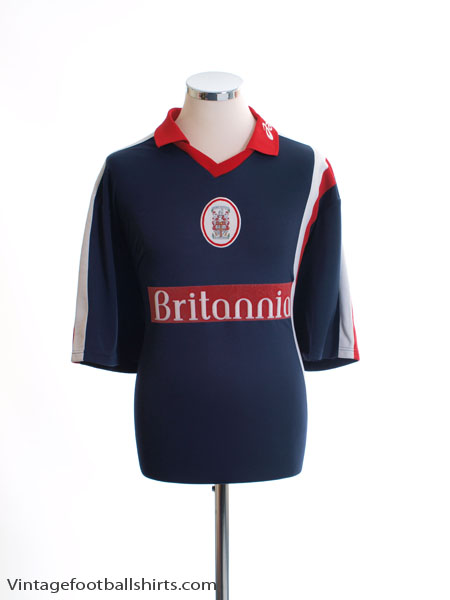 1999-01 Stoke City Away Shirt L