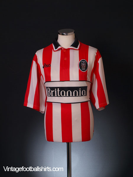 1999-01 Stoke City Home Shirt L