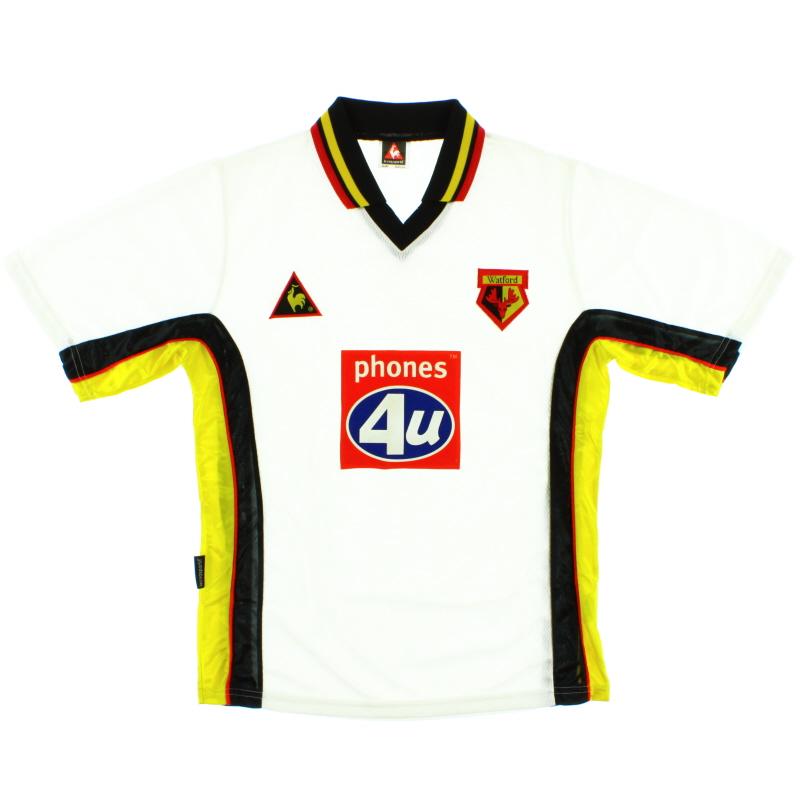 1999-01 Watford Away Shirt S