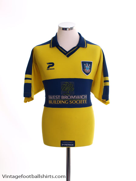 1999-01 West Brom Away Shirt M