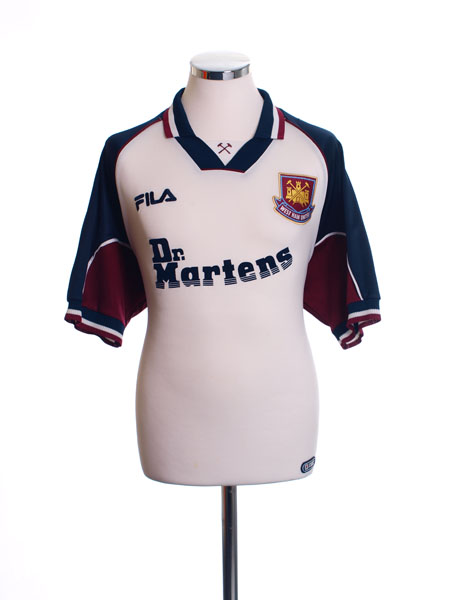 1999-01 West Ham Away Shirt S