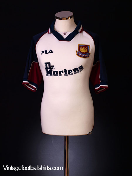 1999-01 West Ham Away Shirt L
