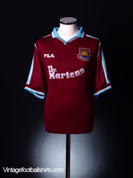 1999-01 West Ham Home Shirt L