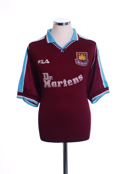 1999-01 West Ham Home Shirt XL