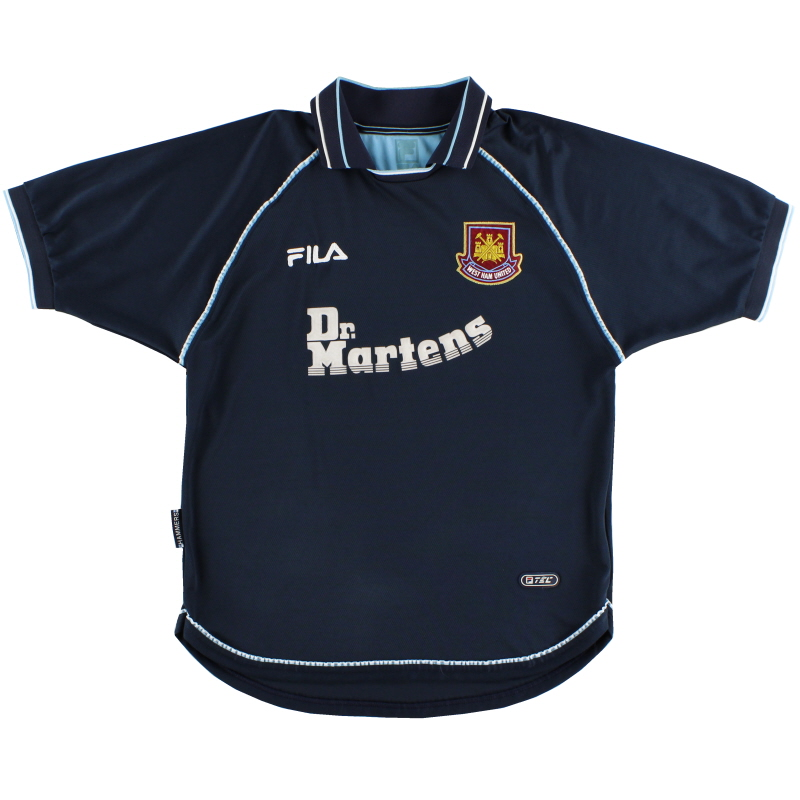 1999-01 West Ham Third Shirt XL