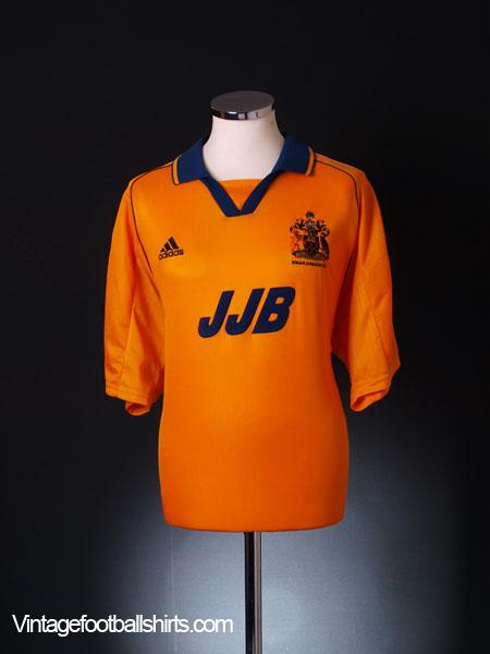 1999-01 Wigan Away Shirt XL