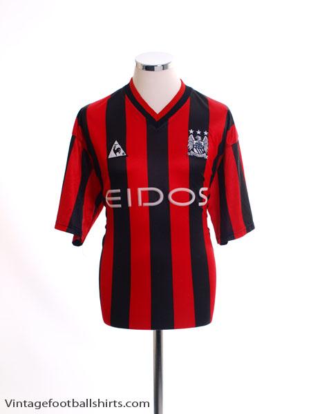 1999-02 Manchester City Third Shirt XL