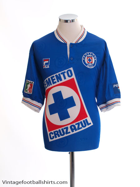 1999 Cruz Azul Home Shirt XL