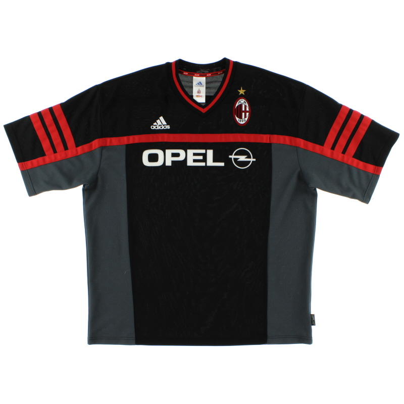 2000-01 AC Milan adidas Training Shirt XL - 685342
