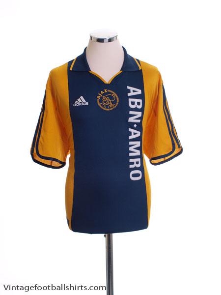 2000-01 Ajax Centenary Away Shirt S