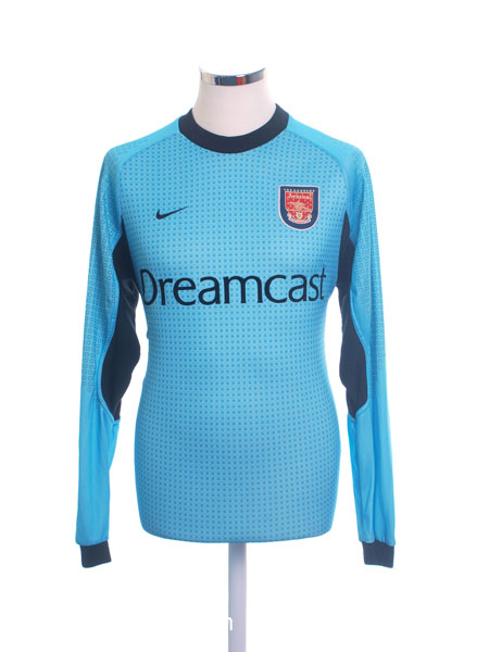 2000-01 Arsenal Goalkeeper Shirt M