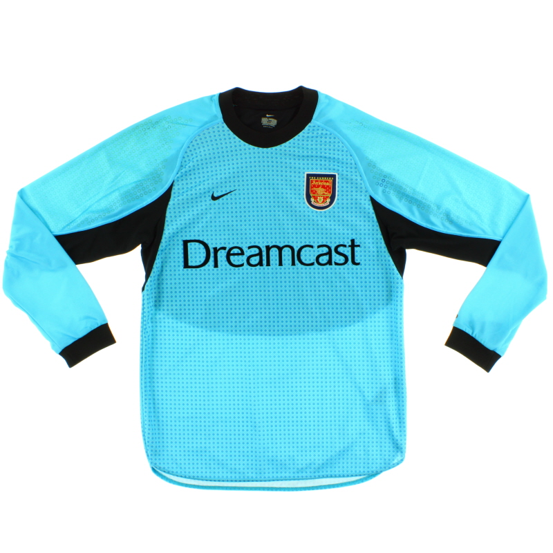 2000-01 Arsenal Goalkeeper Shirt *Mint* L