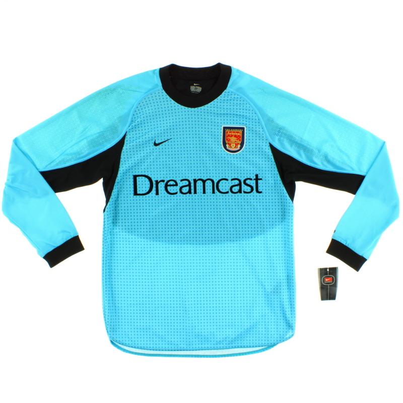 2000-01 Arsenal Goalkeeper Shirt *w/tags* XL
