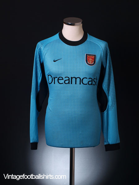 promo code 142e0 bb075 2000-01 Arsenal Goalkeeper Shirt M for sale