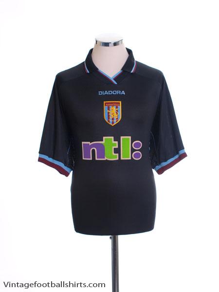 2000-01 Aston Villa Away Shirt L