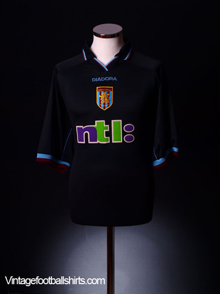 2000-01 Aston Villa Away Shirt L