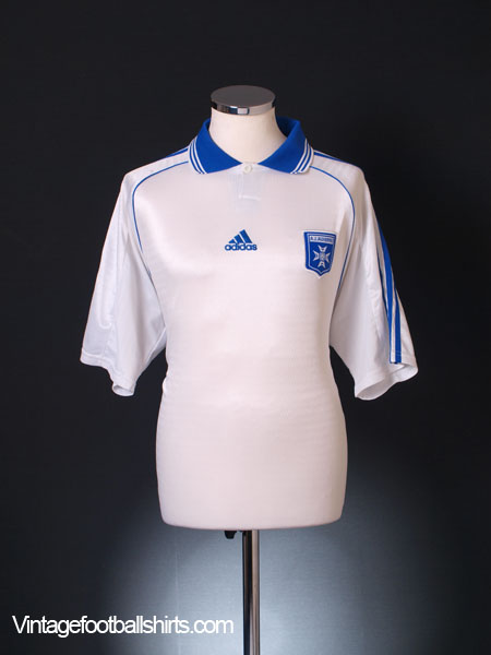 2000-01 Auxerre Home Shirt L