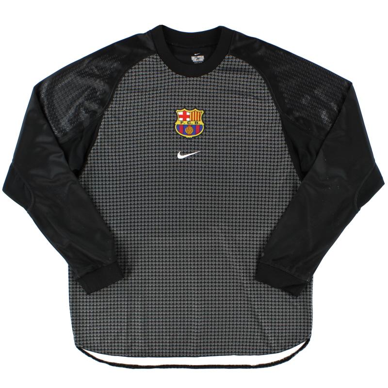 2000-01 Barcelona Goalkeeper Shirt L