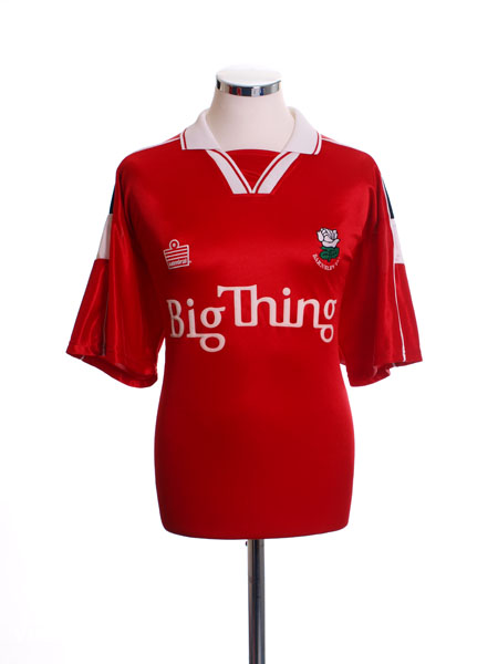 2000-01 Barnsley Home Shirt L