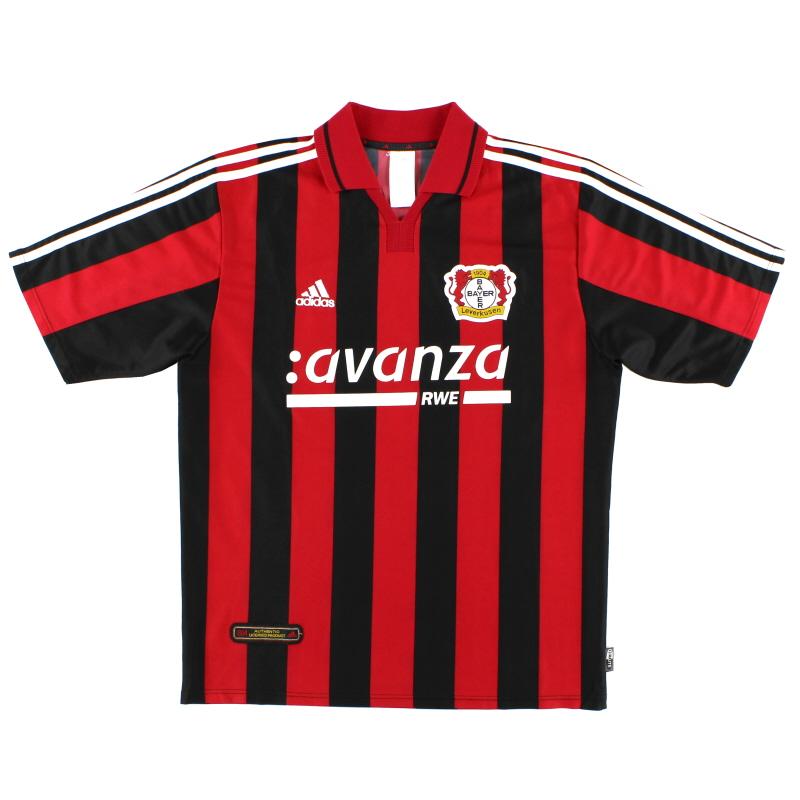 2000-01 Bayer Leverkusen Home Shirt XXL