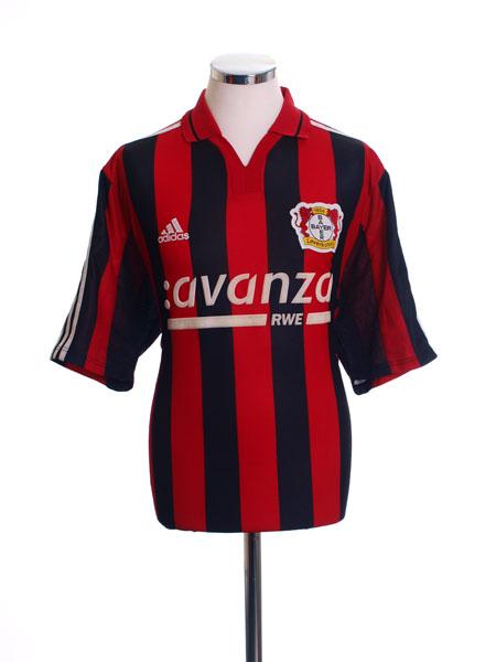 2000-01 Bayer Leverkusen Home Shirt L