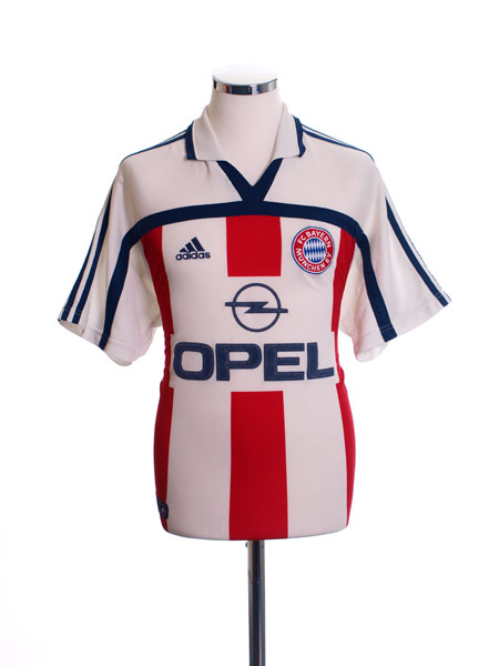 2000-01 Bayern Munich Away Shirt *Mint* L