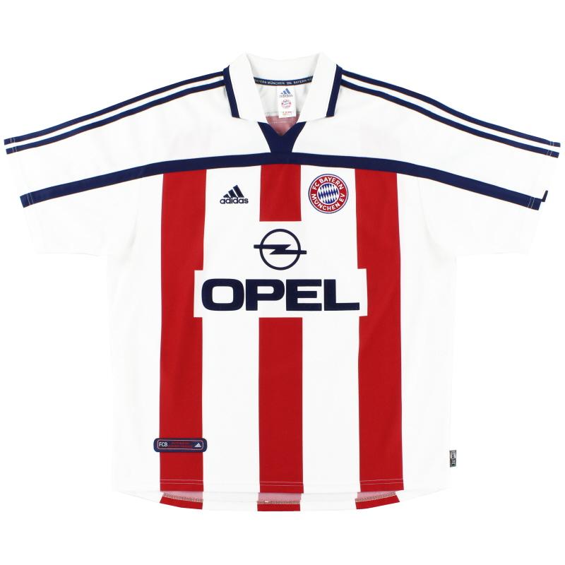 2000-01 Bayern Munich Away Shirt *Mint* XL - 683584