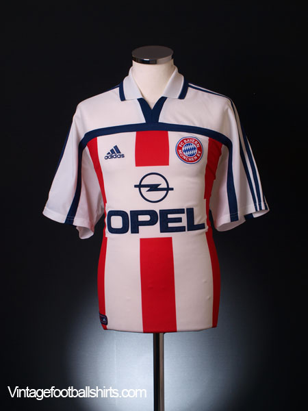 2000-01 Bayern Munich Away Shirt L