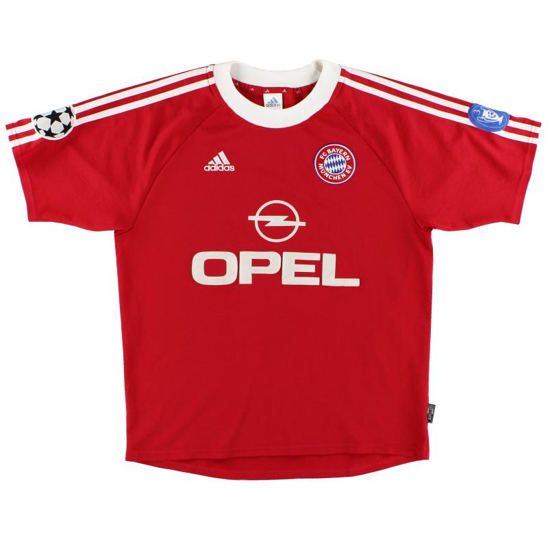 2000-01 Bayern Munich Champions League Shirt Zickler #21 M - 697833