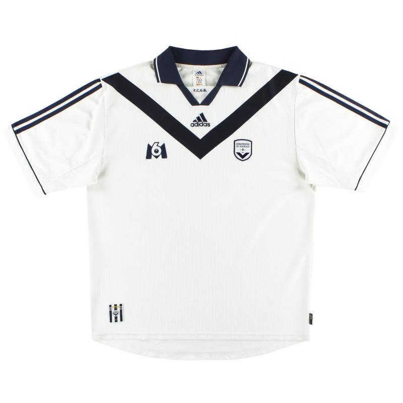 2000-01 Bordeaux adidas Away Shirt XL