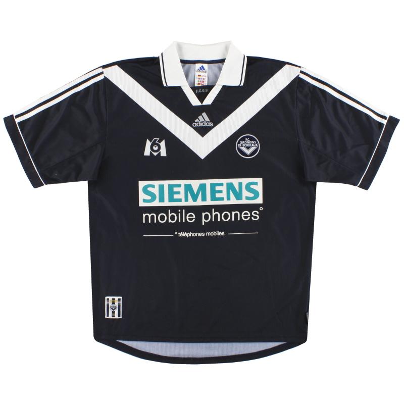 2000-01 Bordeaux adidas Home Shirt L - 634913