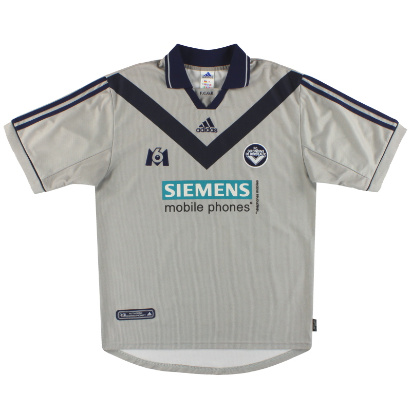 2000-01 Bordeaux adidas Third Shirt M