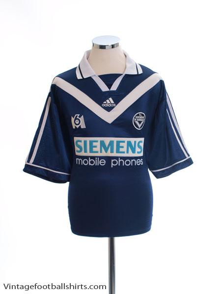 2000-01 Bordeaux Home Shirt XL