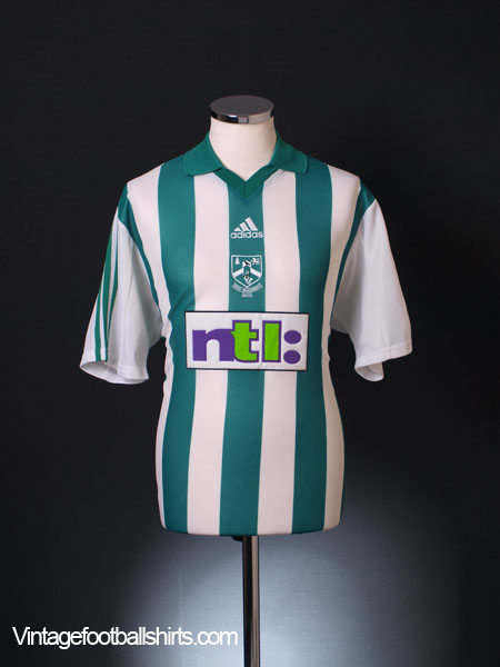 9f5397460d05f 2000-01 Bray Wanderers Home Shirt *Mint* M for sale