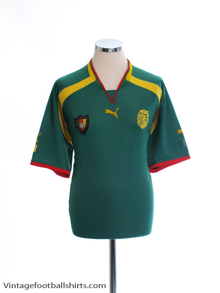 2000-01 Cameroon Home Shirt *Mint* XL
