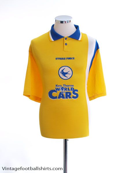 2000-01 Cardiff City Away Shirt XL