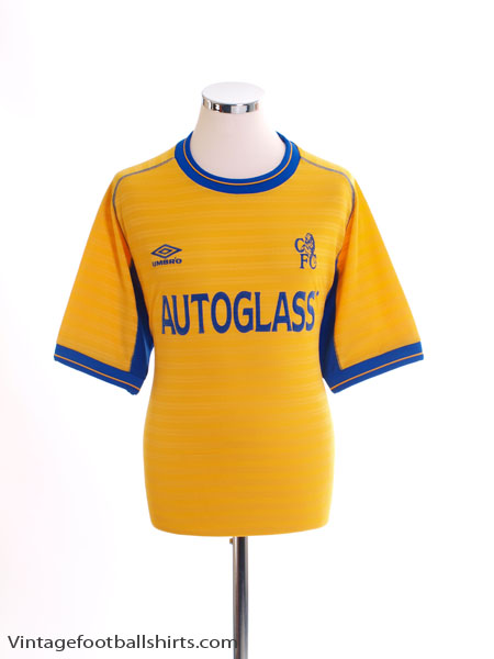 2000-01 Chelsea Away Shirt L