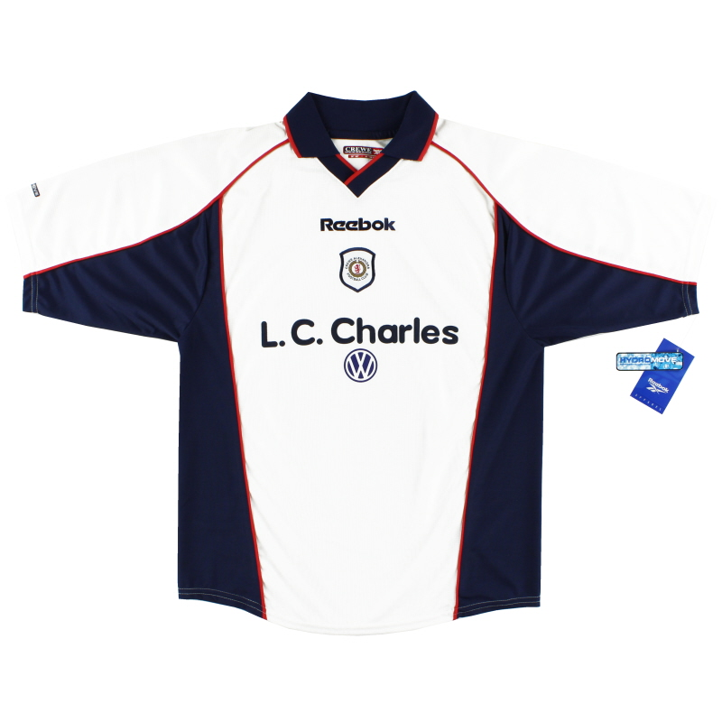 2000-01 Crewe Alexandra Away Shirt *BNWT* M