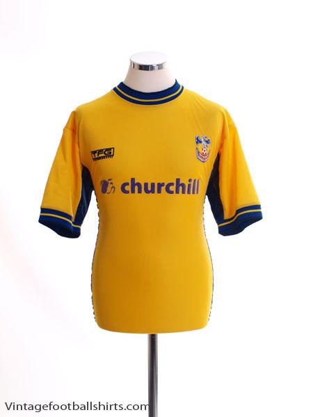 2000-01 Crystal Palace Away Shirt M