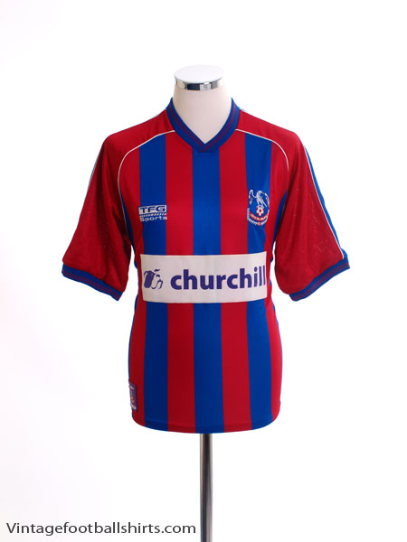 2000-01 Crystal Palace Home Shirt S