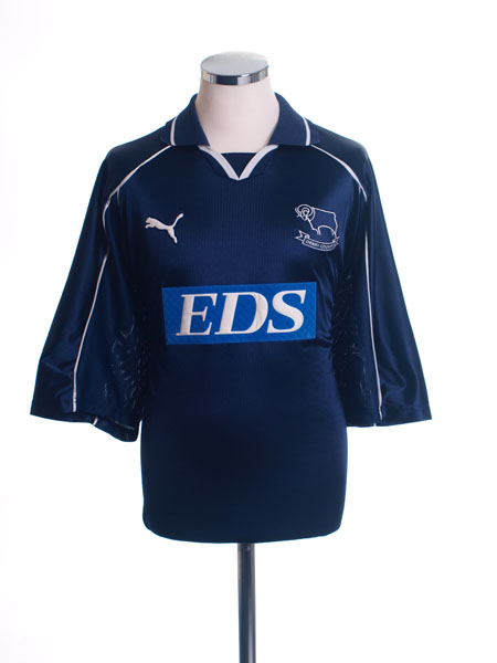2000-01 Derby County Away Shirt L