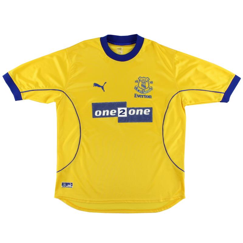 2000-01 Everton Puma Away Shirt L