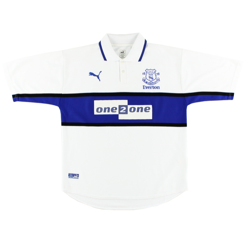 2000-01 Everton Third Shirt L