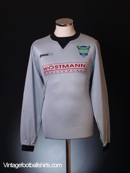 2000-01 FC Gutersloh 2000 Goalkeeper Shirt #1 S