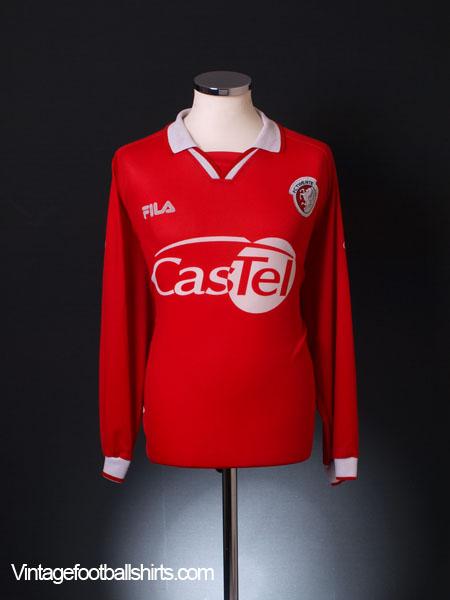 2000-01 FC Twente Home Shirt L/S XXL
