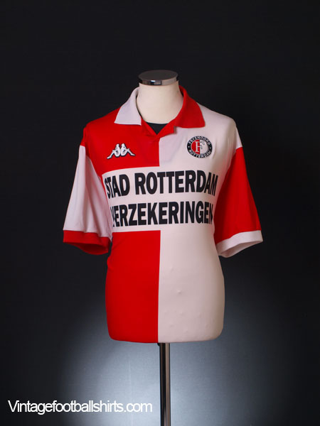 2000-01 Feyenoord Home Shirt XL