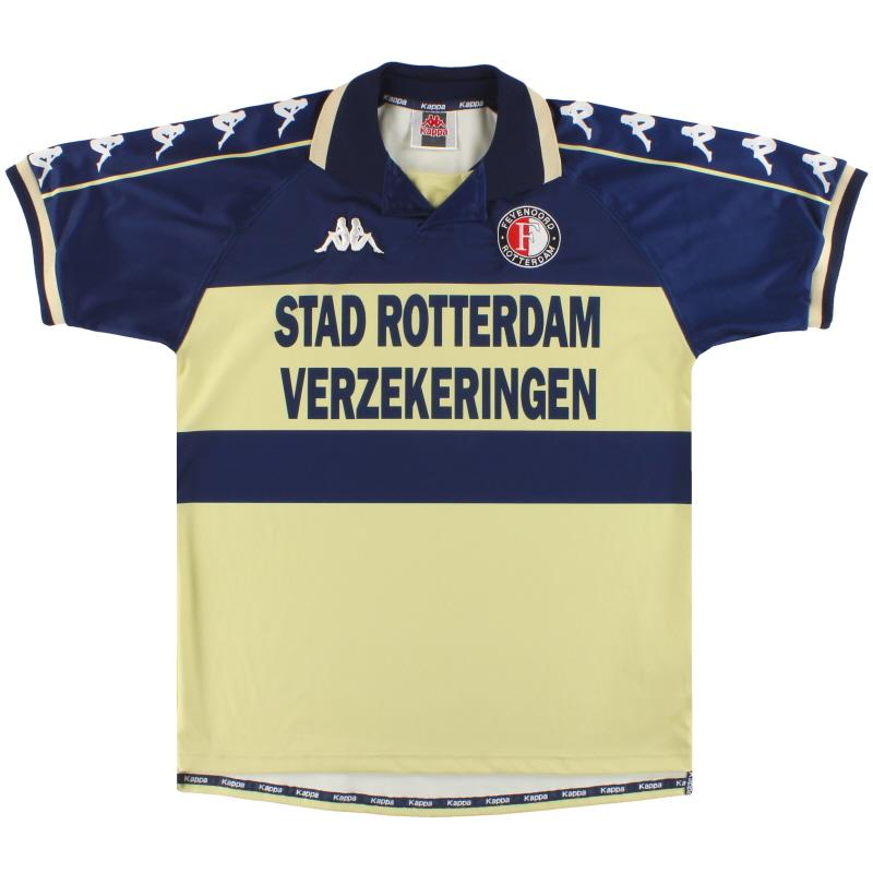 2000-01 Feyenoord Kappa Away Shirt L