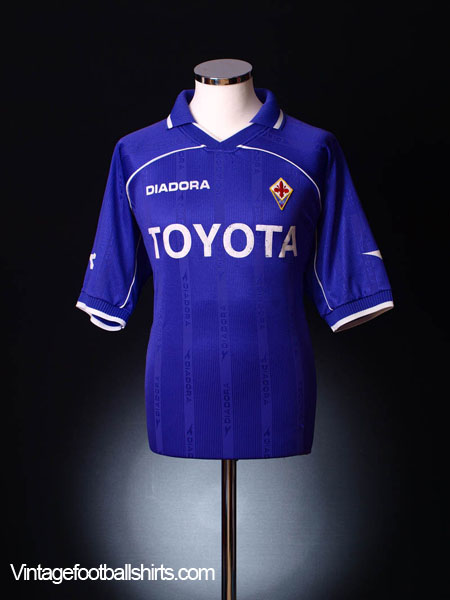 2000-01 Fiorentina Home Shirt XL