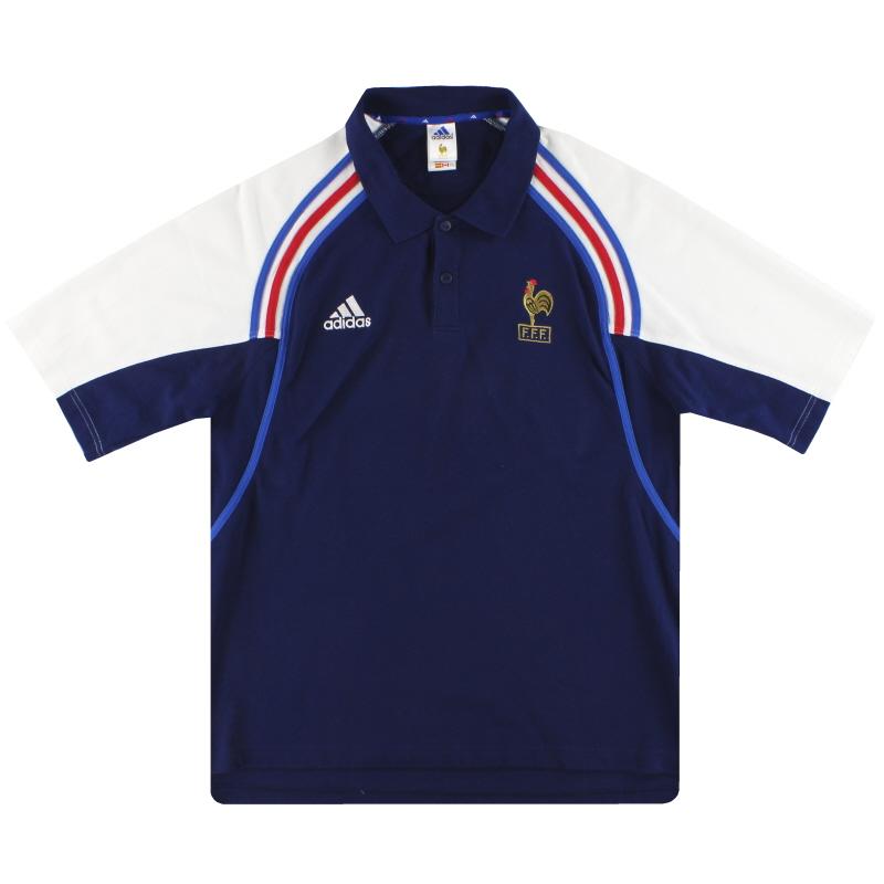 2000-01 France adidas Polo Shirt XL - 647621