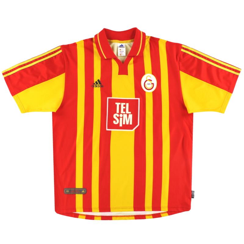 2000-01 Galatasaray adidas Home Shirt L - 683505